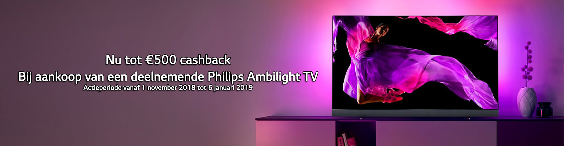 Philips Cashback November 2018